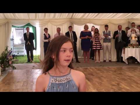 Priya Irish Dancing to Ed Sheeran's Nancy Mulligan at my cousins wedding