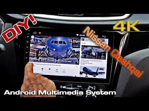 Android Car Multimedia System Nissan Qashqai (installing)