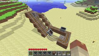 Minecraft - Obsolete minecart booster (Alpha version) thumbnail