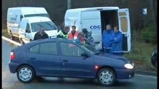 grève chauffeurs routiers Bordeaux