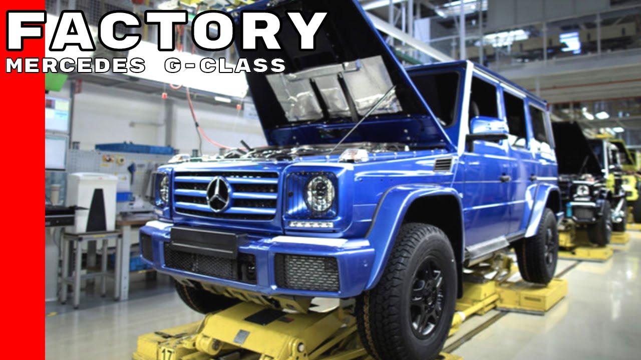 Mercedes G-Class Factory