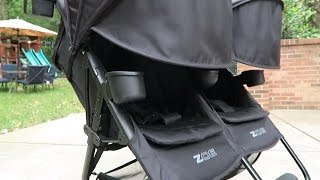 ZOE XL2 DELUXE Comprehensive Review! Best Double / Twin Stroller for Disney World & NYC 2016/2017!