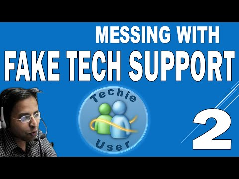 Calling Fake Tech Support Ep. 2 (Techie vs. User)