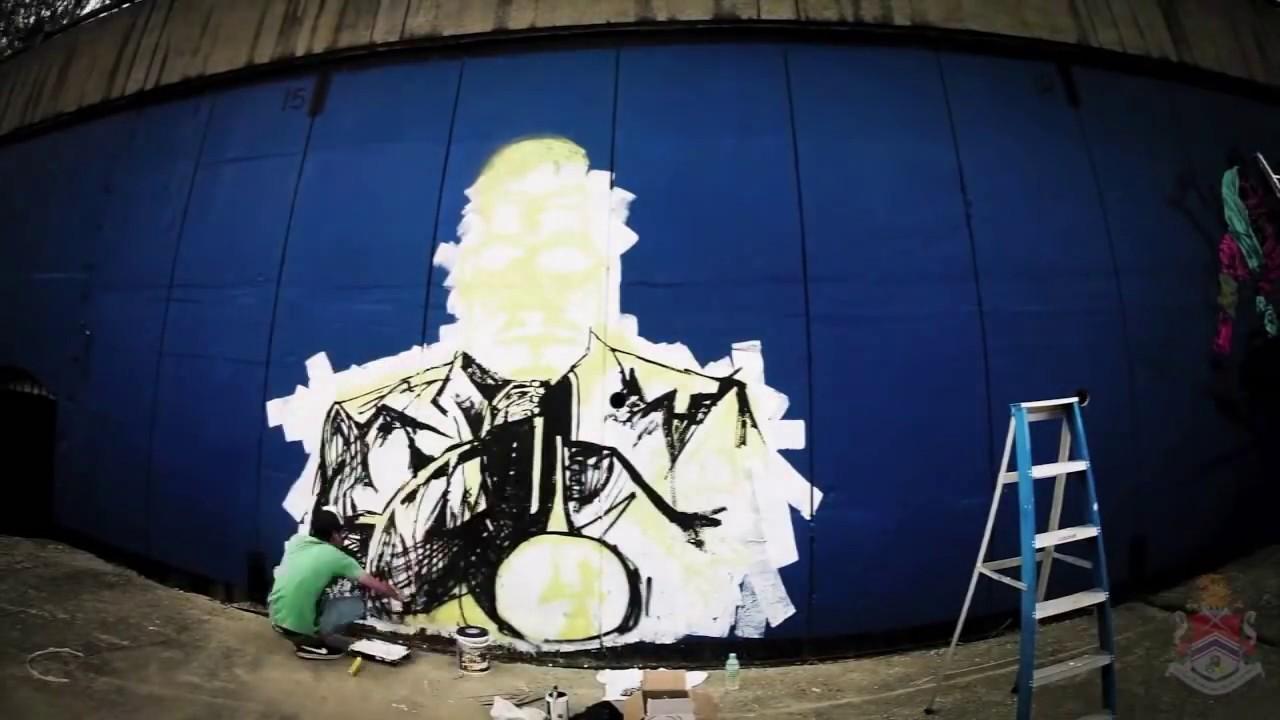 HOW TO PAINT STREET ART 1 Graffiti Hip Hop Hiphop Rap Music Style Draw Tutorial Video Graff Wizard