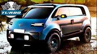 Автомобиль будущего УАЗ. Самые безбашенные модели!