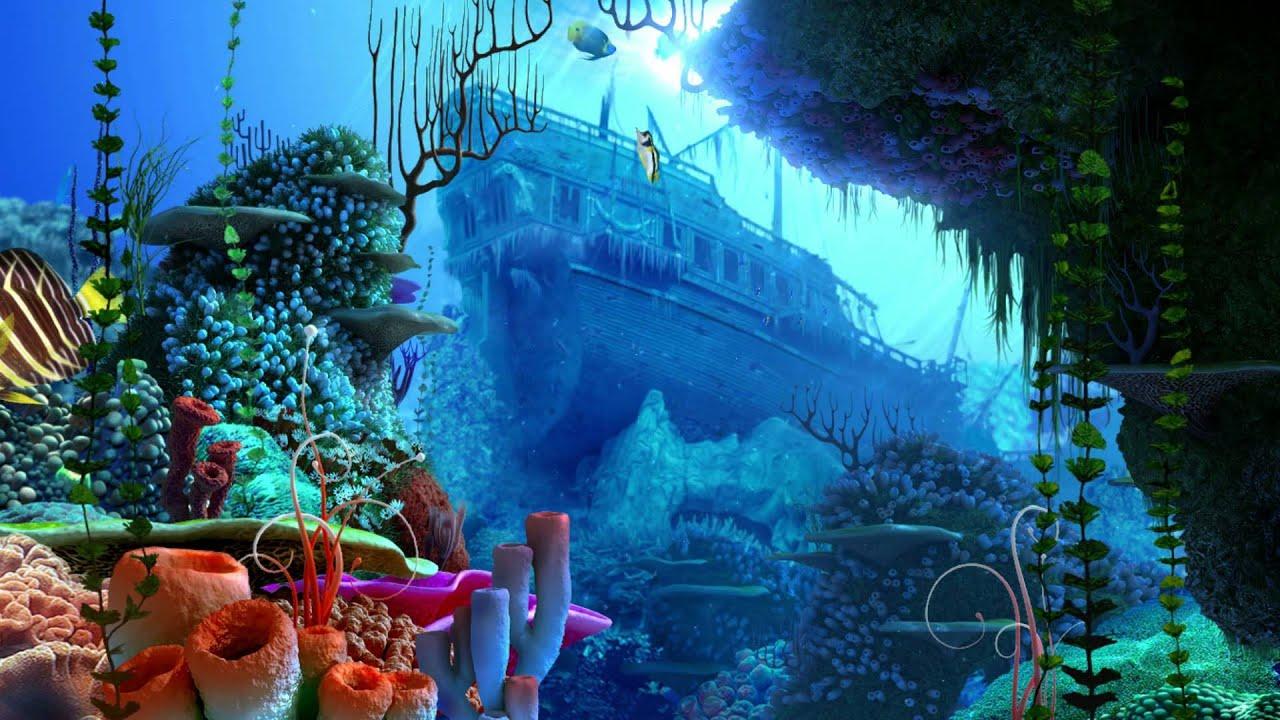 Fish Tank 3d Wallpaper Ocean Dream Eden By Ledovskiy Valeriy Aquarium 3d