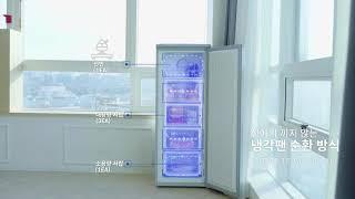 클라윈드 스탠드 냉동고 (기능종합)