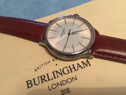 Burlingham Confluence 05 Affordable Dress Watch With A Stunning Dial