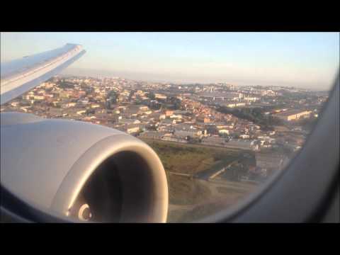 Landing in Sao Paulo, KLM 777-300ER