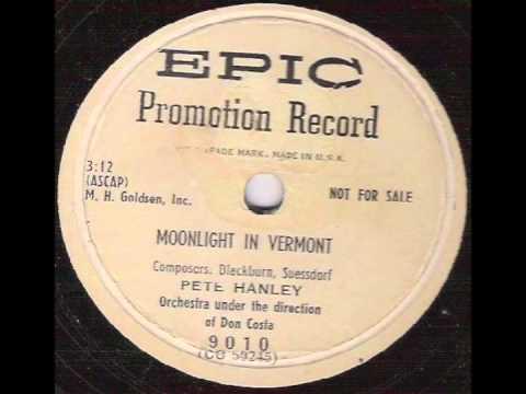 Moonlight In Vermont (1953) - Peter Hanley
