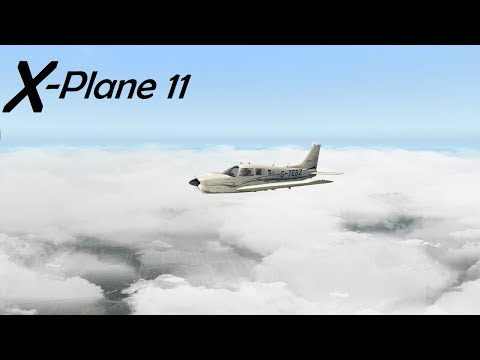 X-Plane 11! Charles R. Walter Piano Factory!