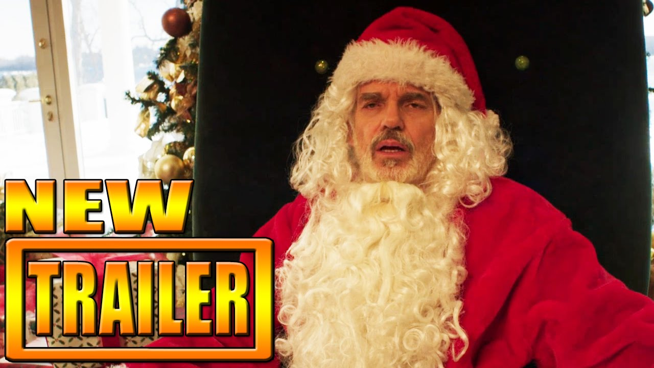 bad santa 2 trailer - Christmas Pictures With Santa 2