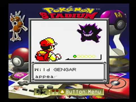 How To Capture A Wild Gengar In Pokemon Yellow