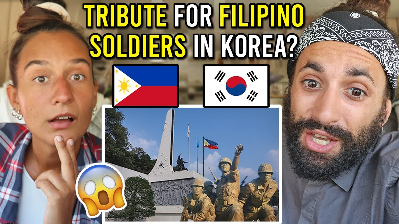 FILIPINO SOLDIERS in the KOREAN WAR | PHILIPPINES Memorial MONUMENT in Korea REACTION!