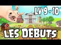 Guide débutants : level 9 - 10 ! Hay Day