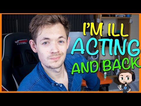I'M ILL l YouTube Actor [VLOG 2017]