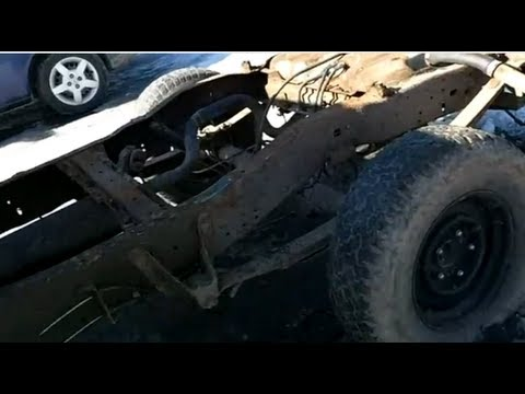 Ford F 150 Wooden Flatbed Project Part 1 Youtube