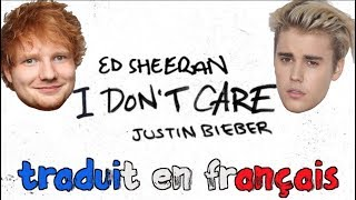 Baixar Ed Sheeran & Justin Bieber - I don't care (traduction en francais) COVER