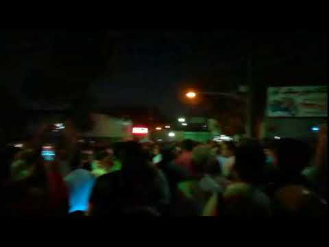 """TETHRAN, Iran, June 25, 2018. Protesters chanting: """"Death to the Dictator"""""""