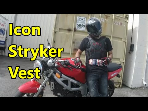 Full-Length Review: Icon Stryker Motorcycle Vest
