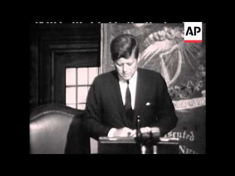 PRESIDENT JOHN F KENNEDY - PARLIAMENT - SOUND