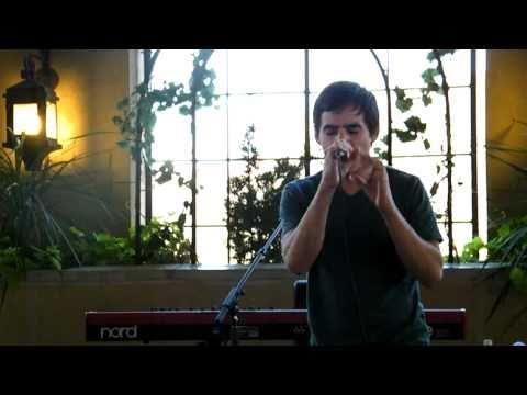 David Archuleta singing Things Are Gonna Get Better-Patio Party S.Jordan UT