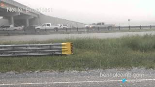 Hailstorm in Hale County Texas on October 12, 2012