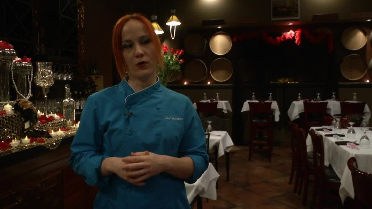 Dining In The Dark With Chef Adrianne Calvo - YouTube