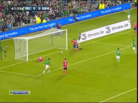 Ирландия -Армения. все голы 2-1 Irlandia- Armenia. Goals 2-1