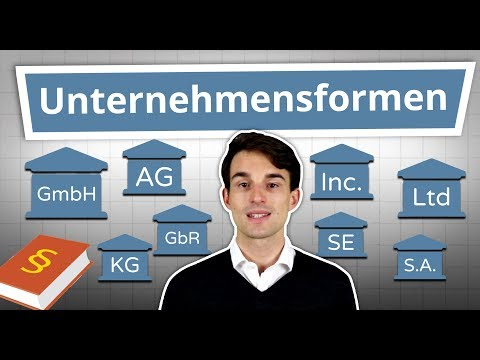 Unternehmensformen erklärt: GmbH,