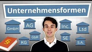 Gambar cover Unternehmensformen erklärt: GmbH, AG, UG, GbR, Inc., Ltd uvm. einfach erklärt!