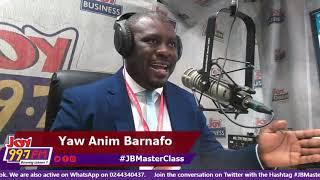 #JBMasterClass on Joy FM (19-6-19)