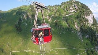 Bungy Jumping Stockhorn Interlaken Switzerland Alpinrat^ft