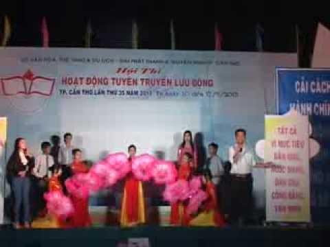 Tuyên truyền lưu động Quận Ô Môn 2013 phần 4