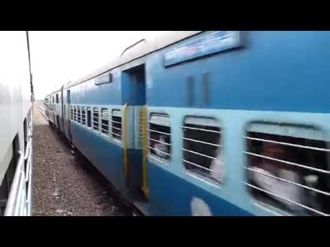 Sachkhand Express meets horribly late Jabalpur NDLS Superfast Express