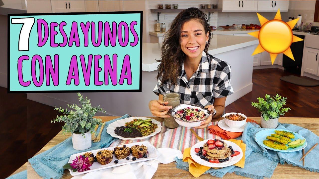 7 desayunos para la semana con avena vegano y f cil for Cocinar una tarde para toda la semana