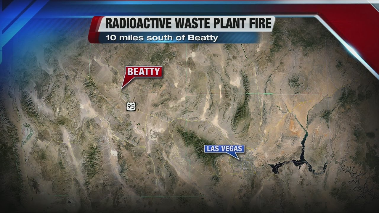 Fire Burns At US Ecology Site Near Beatty YouTube - Us ecology map