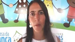 Secretária de Bem Estar Social de Rio das Ostras Rose Santos fala da Casa da Criança.