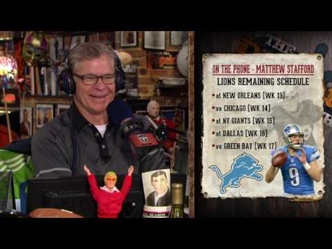 Matthew Stafford on The Dan Patrick Show (Full Interview) 11/28/16