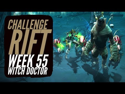 Diablo 3 - Challenge Rifts Week 55 [NA] Witch Doctor