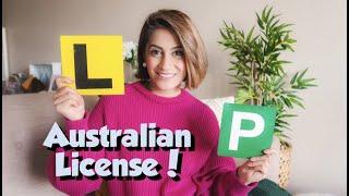 My Australian Driving License Journey | GOOD NEWS | Farrah Zaur
