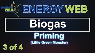 BIOGAS   Priming the system with Bacteria   The Little Green Monster   Wally Weber