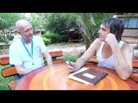 interview with Pete Doherty at the Hope Rehab Centre just outside Bangkok.
