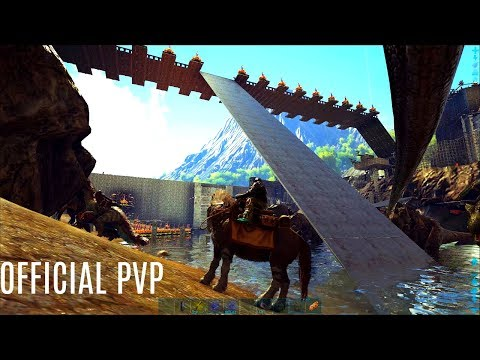 FINISHING THE BRIDGE w/ Old Tunnels SE Cave Solo - Official PVP (E154) - ARK Survival
