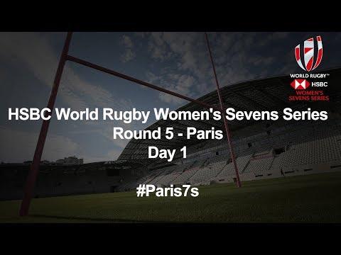HSBC World Rugby Women's Sevens Series 2018 - Paris Day 1