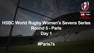 HSBC World Rugby Women's Sevens Series 2018 - Paris Day 1