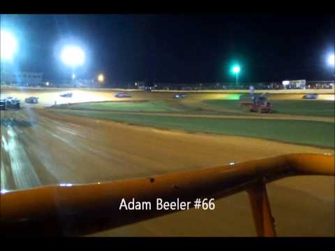 DVD of 411 Motor Speedway Limited Late Model 10-5-12
