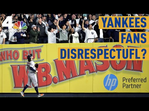 Yankees Fans Disrespectful? Astros' Josh Reddick Blasts Crowd | NBC New York