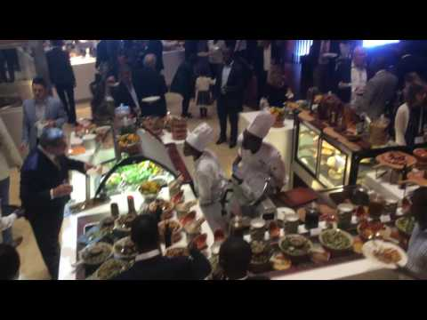 Rwanda Kigali Marriott Hotel Grand Opening - Food and Drinks