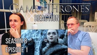 Game of Thrones - 8x1 Winterfell - Reaction